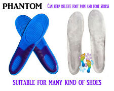 Foot Support Insert Gel Silicone Orthotic Insoles Arch Support Massaging Quality