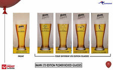 Hahn Super Dry Socceroos World Cup South Africa Beer Glasses 425ml any 2
