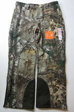 NWT Womens Camouflage REALTREE Xtra 42-44L 31 Soft Shell Pants Water Resistant