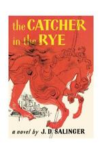 Book Cover of the Catcher in the Rye by J. D. Salinger, First Edition Giclee