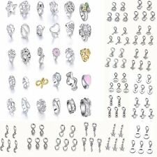 Fashion Wholesale 5pcs Endless Charms Rhinestone Pearl Beads Pendant Accessories
