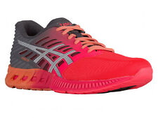 NEW WOMENS ASICS GEL FUZEX RUNNING SHOES TRAINERS DIVA PINK / WHITE / CARBON