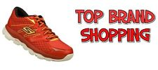 MENS RUNNING SKECHERS PERFORMANCE GO RUN RED 53915 - NEW AND SEALED