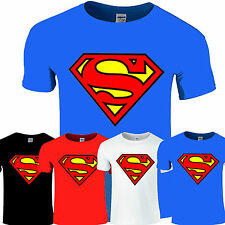NEW SUPERMAN T-SHIRT UNISEX T SHIRT HOT S-XXL 7 COLOURS HEN,STAG PARTY FUNCTIONS