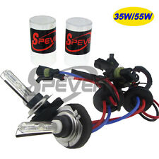 2X 35W 55W H7 Metal Base HID XENON Headlights Bulbs 5000K 6000K 8000K 10000K
