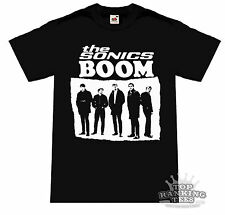 THE SONICS Boom T-Shirt GARAGE PUNK Psychobilly THE CRAMPS Proto-Punk