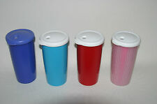Tupperware Double Wall Insulated 24 oz Tumbler Cup Dripless Straw Seal Valve NEW