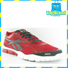 REEBOK GYM SHOES TRAINFLEX RED MENS SALES SAMPLE SHOE NEW  9 US / 42 EUR