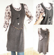ROSE Maternity Dress Clothes Nursing Clothing Breastfeeding Top Shirt Tunic NEW