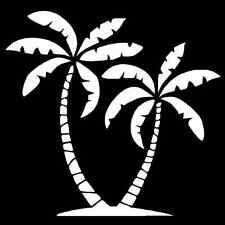 Palm Trees Vinyl Decal Car Truck Window Sticker Tropical Laptop Wall Graphic
