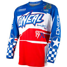 2017 O'Neal Afterburner Motocross Dirtbike MTB BMX Off-Road Riding Gear Jersey