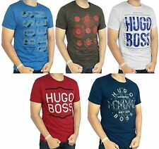 HUGO BOSS Green Label White, Red, Brown, Blue, Navy Blue Crew Neck Tee shirt NWT