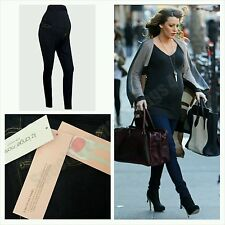 New Maternity Navy Over Bump Skinny Jeans Jeggings Trousers BNWT RRP $34.99