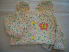 CARTER'S BABY OUTFIT GIRL'S FOOTED SLEEP AND PLAY  MULTI COLOR FLORAL NWT