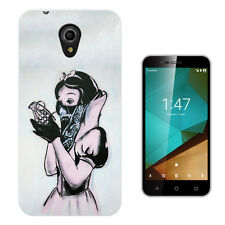 892 Banksy Snow White Case Cover For Vodafone Smart Ultra First Prime 6 & 7