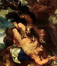 Prometheus Bound by Peter Paul Rubens, 1618 (Classic Baroque Art Print)