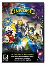 Lego Universe Massively Multiplayer online Game Win/Mac DVD-Rom Complete