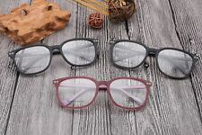 Vintage glass mens acetate wood grain eyeglasses frames  optical eyewear 6802