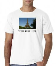 Mens Custom Personalized Picture T-Shirt Tee All Sizes