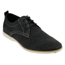 Arider AD05 Men's Two Tone Lace Up Flat Heel Office Oxfords