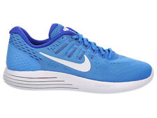 NEW WOMENS NIKE LUNARGLIDE 8 RUNNING SHOES TRAINERS BLUE GLOW / RACER BLUE / HYP