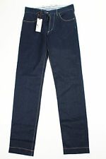 Reporter Mens Casual Jeans - Blue Cotton