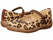 Stride Rite SRT PS Cassie Brown Animal size 7.5 Toddler Girls Mary Jane Flat New