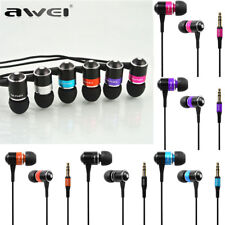Awei ES-Q3 3.5mm Jack Super Bass Stereo HiFi In-Ear Earphone Headphone Headset X