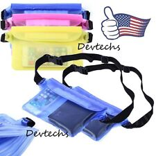 Durable Waterproof Bag Underwater Waist Pouch Pack Dry Case for iPhone Samsung
