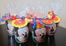 Mickey Mouse Clubhouse Birthday Party Favors Souvenir Cups Goodie Bags Loot Bags