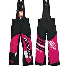Arctiva Comp 7 Insulated Youth Girls Snowmobile Sled Skiing Winter Sports Bibs