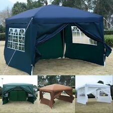 New Outdoor 10'X10' EZ POP UP Tent Gazebo Wedding Party Canopy Shelter Carry Bag