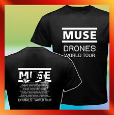 Muse DRONES US and Canada World Tour 2016 w/ Dates NEW T-Shirt S M L XL 2XL 3XL