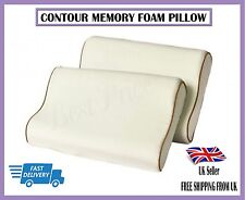 NEW Large Contour Memory Foam Pillow Orthopaedic Optimal Head Neck Support