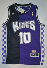 Adidas NBA Sacramento Kings Mike Bibby Hardwood Classic Swingman Men Jersey