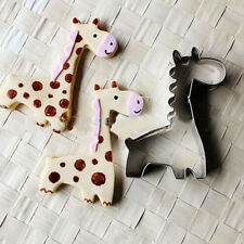 Animal Giraffe Cookie Biscuit Cutter Cake Pastry Bread Mould Mold Baking Tools