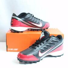 Nike Mens Land Shark 2 Low Red/Black/White Football Cleats Shoes Size 8 New