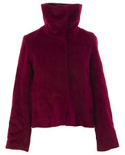 PRIORITIES Women's Red High Neck Snap Closed Coat #P51795 $219 NEW
