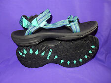 TEVA Womens Size 10.5  or 11 Terra Fi Lite Sport Sandals PALM GREEN New!!