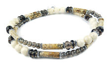DAMALI  Men Handmade Crystal Healing Intention Necklace: Courage to Face Changes