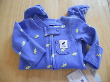 CARTER'S BABY BOY'S OUTFIT SLEEP AND PLAY ELEPHANTS  NWT SO CUTE!! MULTI COLOR