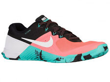NEW MENS NIKE METCON 2 CROSS TRAINING SHOES TRAINERS BRIGHT MANGO / WHITE / HYP