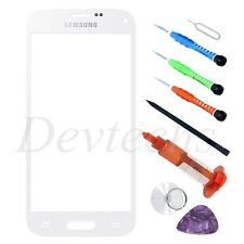 Front Screen Glass Lens Replacement Tool kit UV Glue for Samsung Galaxy S5 White