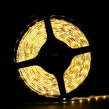 5M 5050/ 3528/ 5630 SMD 300/600LEDs Cool / Warm White LED Strip Light Waterproof