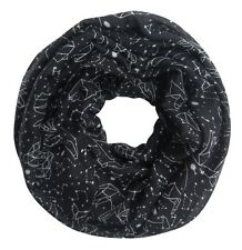 Constellation Infinity Scarf Black or Mint