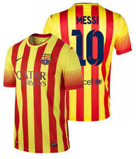NIKE FC BARCELONA LIONEL MESSI AWAY YOUTH JERSEY 2013/14