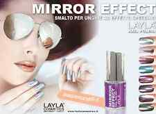 Mirror effect Layla Cosmetics nail polish - lacquer Made in ITALY 10ml