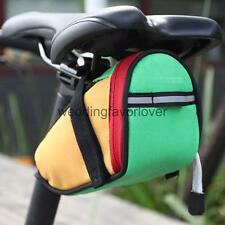 Universal Cycling Bike Bicycle Rear Seat Saddle Tail Pannier Bag - 4 Colors