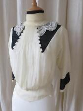 Lovely Antique Edwardian Blouse- Study/ Repair