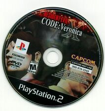 Resident Evil -- CODE: Veronica X (Sony PlayStation 2, 2002) PS2 Polished/Tested